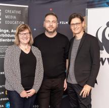 Dr. Astrid Eichhorn (WWF-Projektbüro Mittlere Elbe) | Christoph Graf (Projektleiter Game Jam DACH-Region) | Chris Müller (GF SAE DACH-Region)