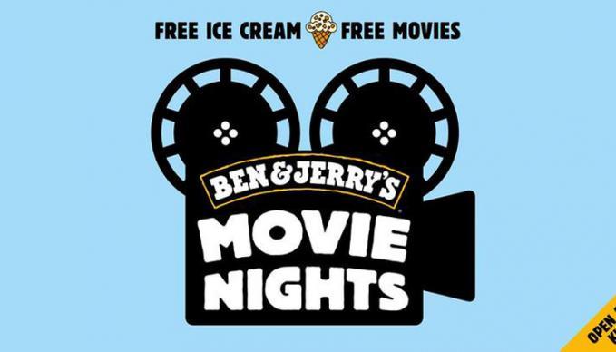 ben & jerry's movie nights SAE Institute
