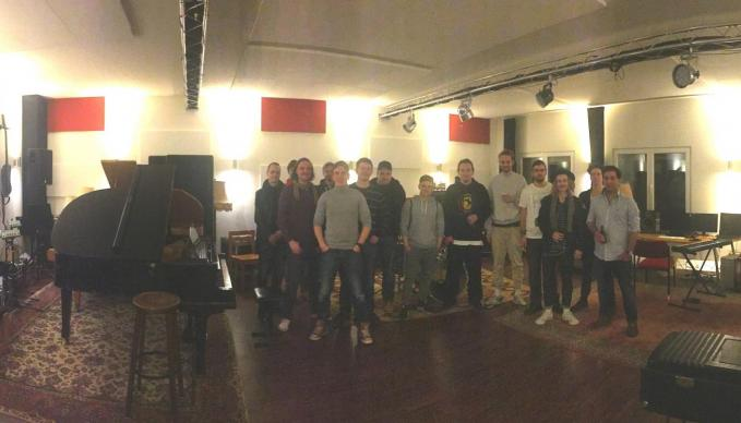 Dennis Gräsel, Nico Klaukien, Sebastan Twele, Elevate Studios Hamburg, SAE Exkursion