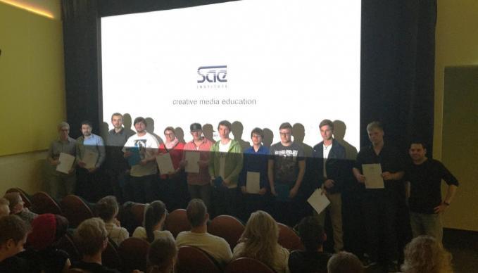 SAE Institute Berlin - Diploma-Vergabe der Filmstudenten des Kurses DFD 913