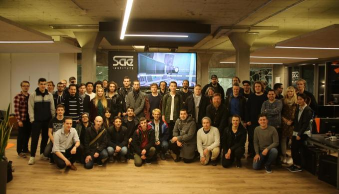 SAE Berlin: Course Start 0317