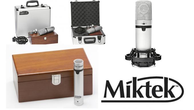 Neue Mikrofone von MiktekAudio für SAE Tonstudios