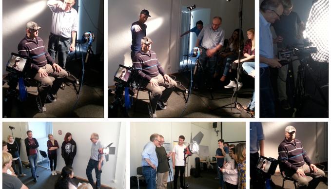 SAE Meet the professionals Achim Dunker Filmlichtgestaltung