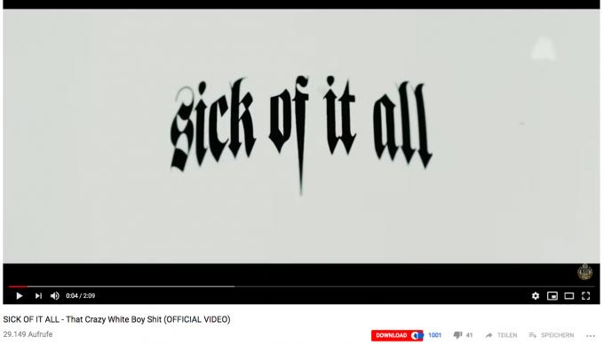"""Absolvent Daniel Prieß produziert Musikvideo für Hardcore Legenden """"Sick Of It All"""" aus NYC"""