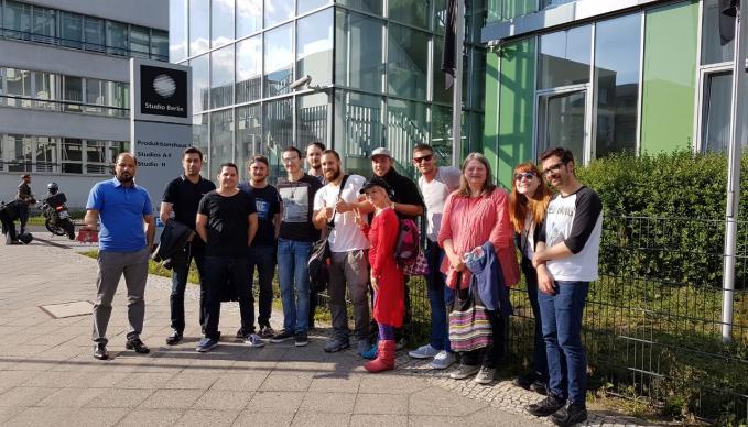 SAE Berlin: TV Studios Adlershof / Voice Of Germany