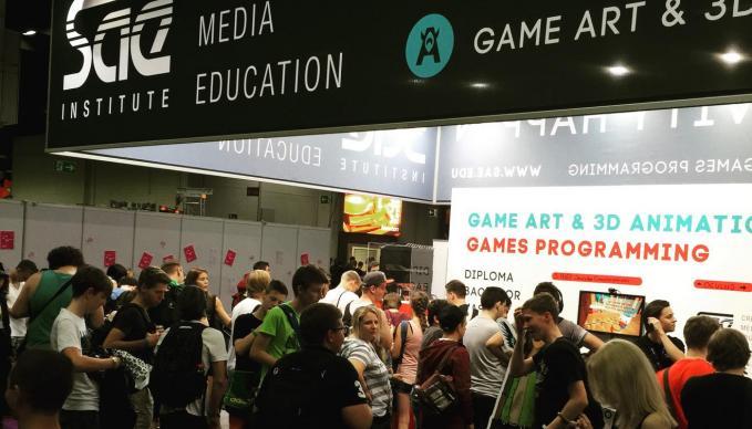 SAE Institute auf der gamescom 2015