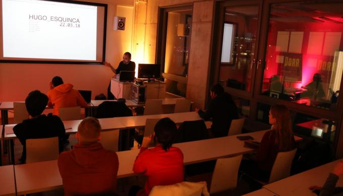 "BERLIN - Meet The Professionals with Hugo Esquinca ""How To Create Art With Pure Data"""