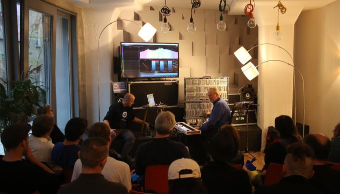 "Europe's very first ""A Celebration Of Music Technology"" IMSTA FESTA @ SAE Berlin was a blast!"