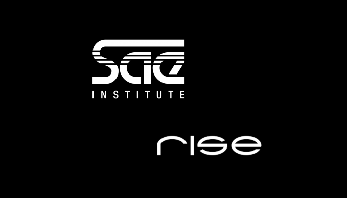 SAE-logo und RISE-VFX-logo